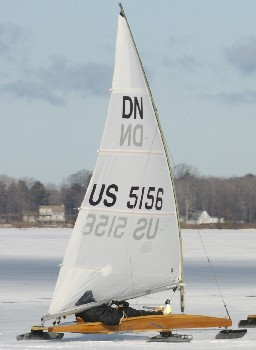 Sailing in the 2005 NAs on Elk Lake