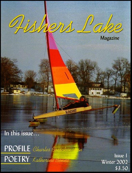 Greg Ward's SLINGSHOT featured on Fishers Lake Magazine