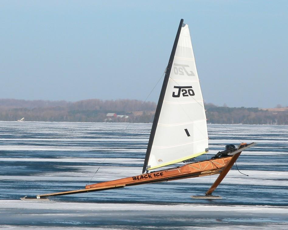 Jacks new J20 Elk Lake Feb 5 2005