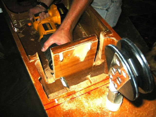 the sawsall & the bulkhead