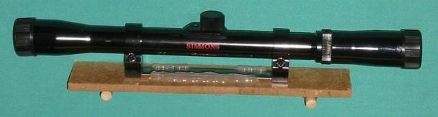 Simple Rifle-Scope Mount