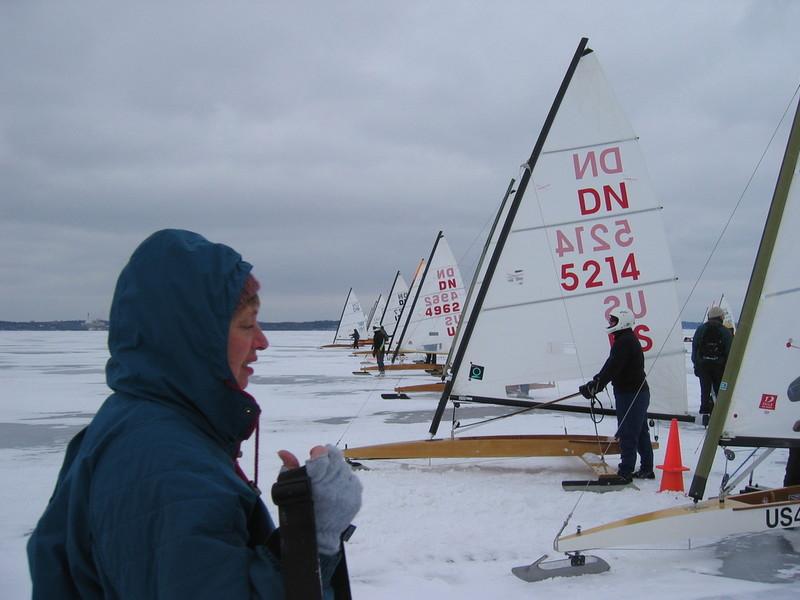 Getting ready for Silver Fleet Race 2