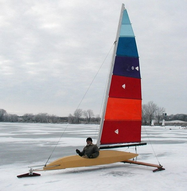 Test sail on Christina