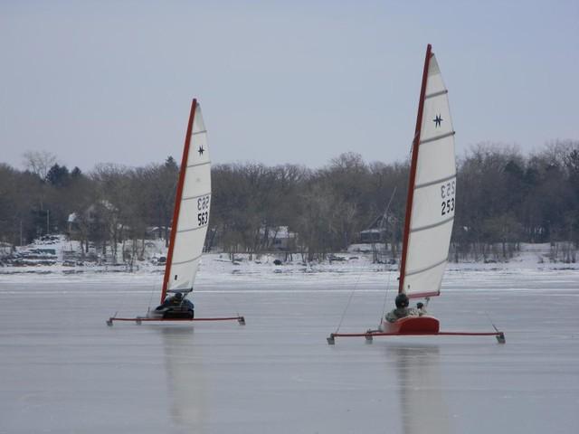 Bald Eagle Lake on 12/23/12 picture 2