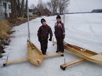 Ice optis in Minnesota