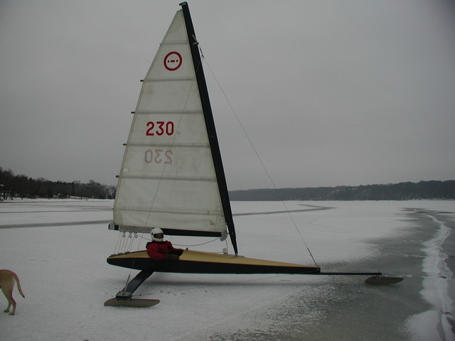 First Sail for C-Skeeter Dec. 13