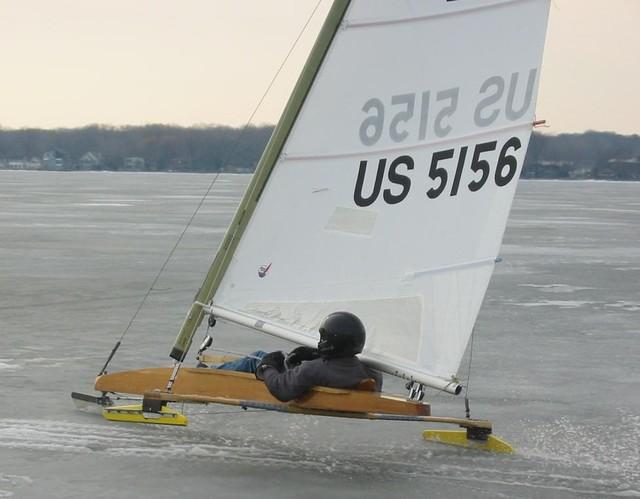 Sailing in slush