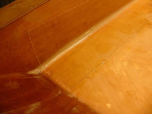 6-inch glass tape floor-side