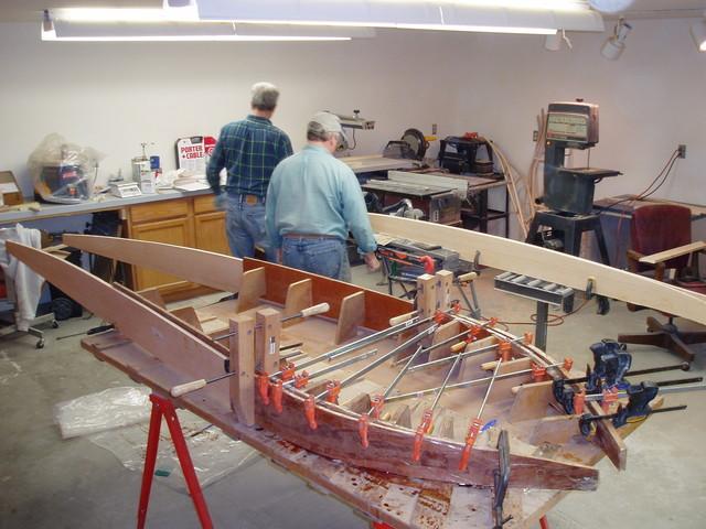Glueing Sideboards