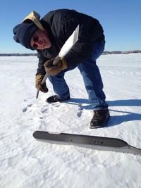 Buffalo Lake ice