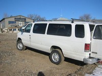 Van at launch site